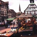 Uslarer Altstadt: Fachwerkhaus und Marktplatz